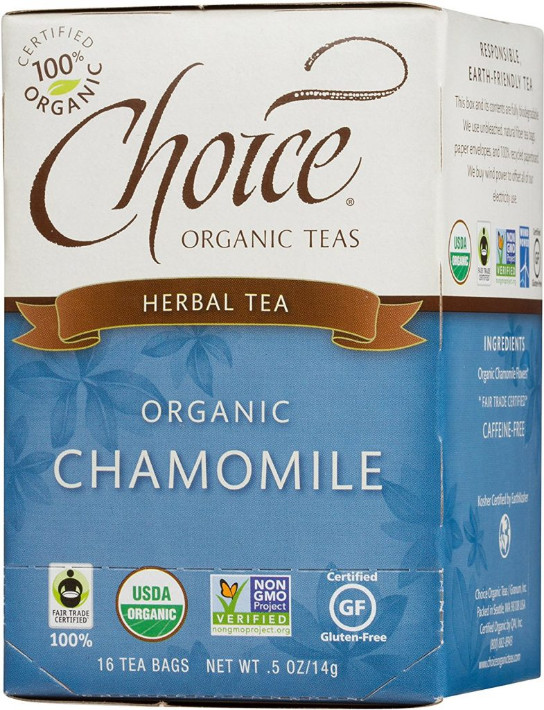 Image of Choice Organic Fair Trade Chamomile Herbal Tea