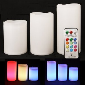 Image of Frostfire Indoor Color Changing Candles