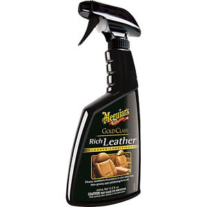 Image of Meguiar's G10916 Gold Class Rich Leather Cleaner & Conditioner