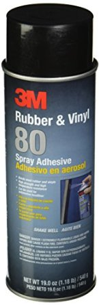 Image of 3M 80 Rubber and Vinyl Adhesive Spray